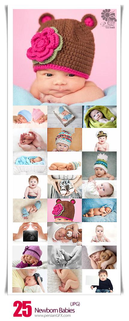 دانلود تصاویر با کیفیت نوزادان تازه متولد شده - Newborn Babies
