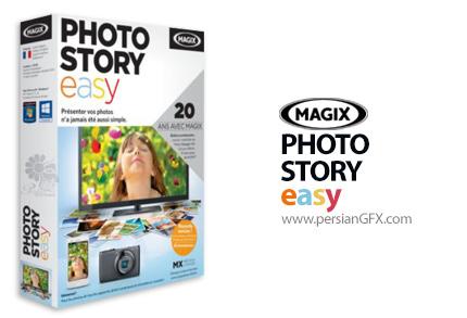 دانلود نرم افزار ایجاد اسلاید شو از عکس ها و کلیپ های ویدئویی - MAGIX Photostory easy 1.0.3.15