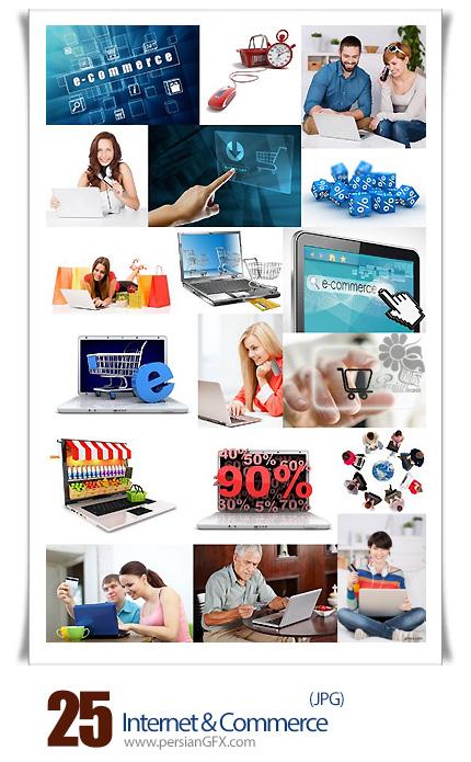 دانلود تصاویر با کیفیت خرید اینترنتی - Internet & Commerce