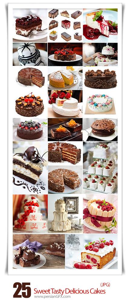 دانلود تصاویر با کیفیت کیک و شیرینی - Sweet Tasty Delicious Cakes