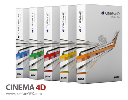 دانلود نرم افزار طراحی و مدل سازی سه بعدی - Maxon CINEMA 4D Studio/Visualize/Broadcast/Prime 4D R17.053 SP3 HYBRID x64