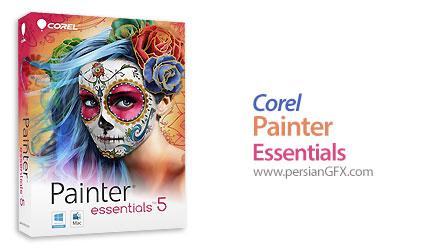 دانلود نرم افزار ایجاد نقاشی از عکس - Corel Painter Essentials v5.0 x64