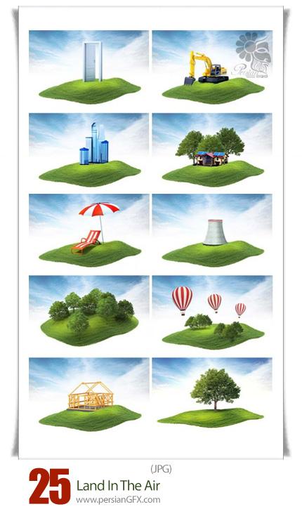 دانلود تصاویر با کیفیت زمین در هوا - Land In The Air