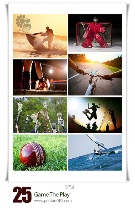دانلود تصاویر با کیفیت بازی های ورزشی، اسکی، قایقرانی، فوتبال، کشتی، والیبال و ... - Game The Play