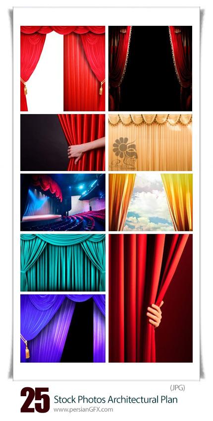 دانلود تصاویر با کیفیت صحنه و پرده های تئاتر از شاتر استوک - Amazing ShutterStock Theater Stage And Curtains