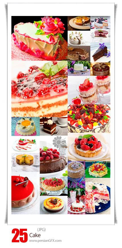 دانلود تصاویر با کیفیت کیک، کیک میوه ای، کیک شکلاتی، کاپ کیک - Cake