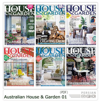 دانلود مجله دکوراسیون داخلی خانه و گلخانه استرالیا - Australian House And Garden 2015 Full Year Issues Collection 01
