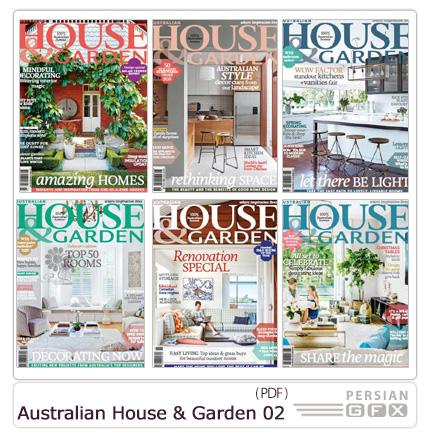 دانلود مجله دکوراسیون داخلی خانه و گلخانه استرالیا - Australian House And Garden 2015 Full Year Issues Collection 02