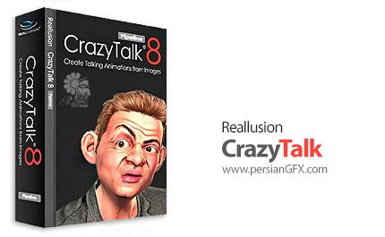 دانلود نرم افزار خلق تصاویر و کاراکتر های سخنگوی سه بعدی - Reallusion CrazyTalk Pipeline v8.13.3615.1 + Resource Pack + Bonus Pack