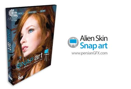 دانلود پلاگین تبدیل عکس به طرح های نقاشی و مختلف - Alien Skin Snap Art v4.1.3.253 x64