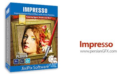 دانلود نرم افزار تبدیل عکس به نقاشی با سبک امپرسیونیست - JixiPix Impresso Pro v1.7.8