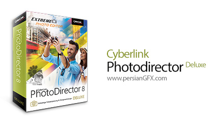 دانلود نرم افزار ویرایش عکس - CyberLink PhotoDirector Deluxe v8.0.2031.0