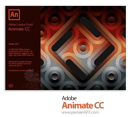 دانلود Adobe Animate CC (formerly Flash Professional) 2017 v16.5.0.100 x64 - نرم افزار ادوبی انیمیت سیسی (فلش سیسی) 2017