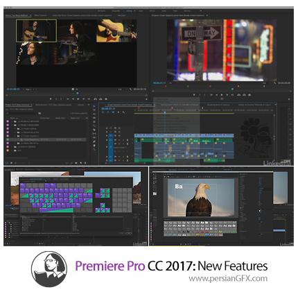 دانلود آموزش ویژگی های جدید پریمیر سی سی 2017 از لیندا - Lynda Premiere Pro CC 2017:New Features