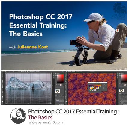 آموزش فتوشاپ سی سی 2017 از پایه به زبان انگلیسی - Lynda Photoshop CC 2017 Essential Training: The Basics