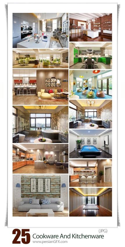 دانلود تصاویر با کیفیت طراحی داخلی مدرن خانه، آشپزخانه، سالن پذیرایی و ... - World Of Modern Interiors