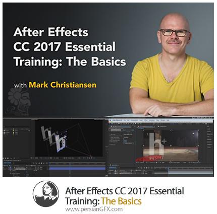 دانلود آموزش مفاهیم پایه افترافکت 2017 از لیندا - After Effects CC 2017 Essential Training: The Basics