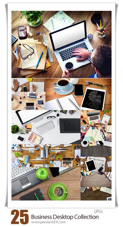 دانلود تصاویر با کیفیت دسکتاب تجاری یا میز کار - Business Desktop Collection