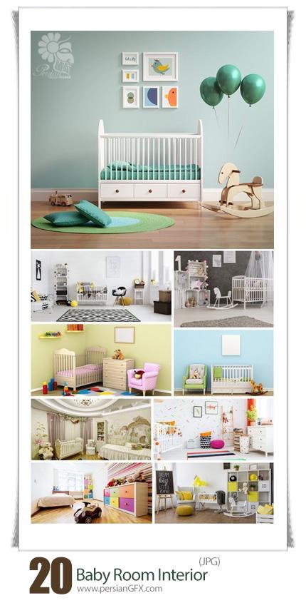 دانلود تصاویر با کیفیت طراحی داخلی اتاق کودکان - Baby Room Interior