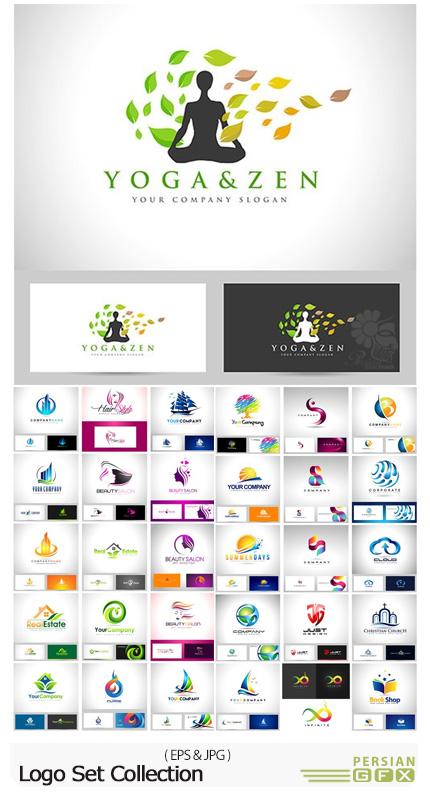 دانلود تصاویر وکتور آرم و لوگوی متنوع - Logo Set Collection