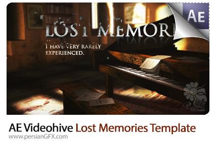 دانلود پروژه آماده افترافکت نمایش آلبوم تصاویر قدیمی با افکت سینمایی به همراه آموزش ویدئویی از ویدئوهایو - Videohive Lost Memories After Effects Templates