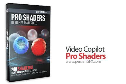 دانلود پکیج شیدرهای آماده ویدئو کپایلت - Video Copilot Pro Shaders + Pro Shaders for CINEMA 4D + Sndbad Shaders