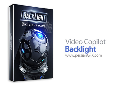 دانلود پکیج مدلهای آماده سه بعدی با موضوع نور پردازی و بازتاب نور - Video Copilot Backlight