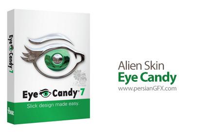 دانلود پلاگین ایجاد بافت های زیبا بر روی تصاویر - Alien Skin Eye Candy v7.2.3.75