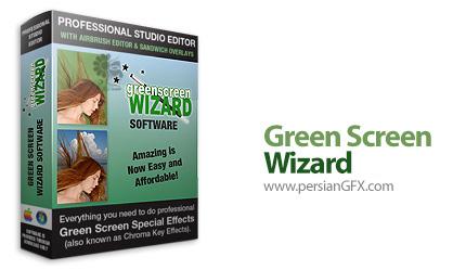 دانلود نرم افزار جایگزینی پرده ی سبز به جای تصاویر دیگر و ویرایشگر عکس - Green Screen Wizard Professional v10.3