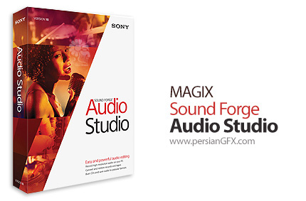 دانلود نرم افزار حرفه ای ویرایش فایلهای صوت و موزیک - MAGIX Sound Forge Audio Studio v10.0 Build 319