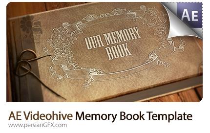 دانلود پروژه آماده افترافکت نمایش آلبوم عکس قدیمی از ویدئوهایو - Videohive Memory Book After Effects Templates
