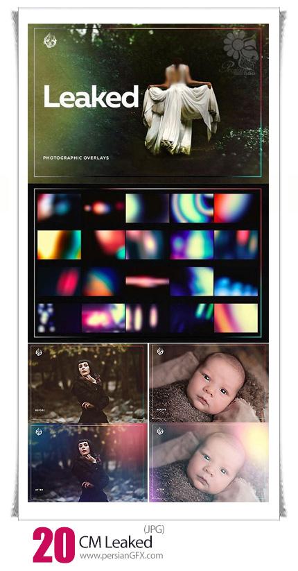 دانلود تصاویر با کیفیت افکت انتشار نورهای رنگی متنوع - CM Leaked