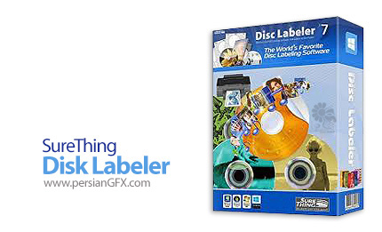 دانلود نرم افزار طراحی و چاپ کاور و لیبل برای سی دی یا دی وی دی - SureThing Disk Labeler Gold v7.0.78.0