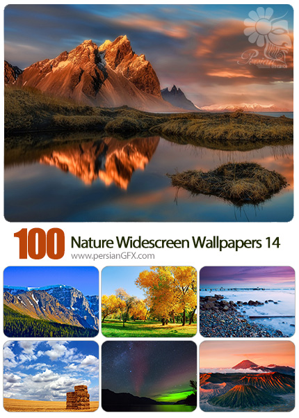 دانلود مجموعه والپیپرهای عریض طبیعت - Most Wanted Nature Widescreen Wallpapers 14