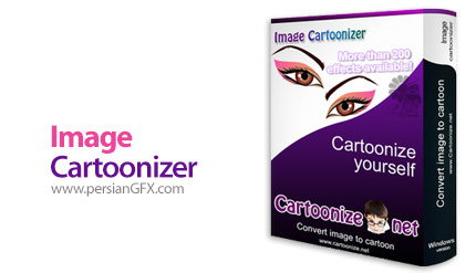 دانلود نرم افزار کارتونی کردن عکس ها - Image Cartoonizer Premium v2.1.1