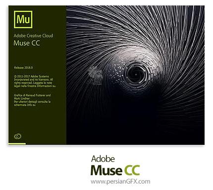 دانلود Adobe Muse CC 2018.1.0.266 x64 - نرم افزار ادوبی میوز سی سی 2018