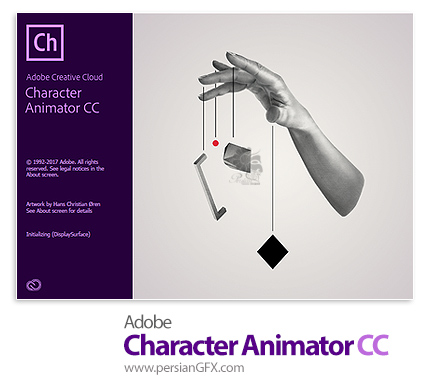 دانلود Adobe Character Animator CC 2018 v1.5.0.138 x64 - نرم افزار انیمیشن سازی با شخصیت های کارتونی طراحی شده در فتوشاپ و ایلاستریتور
