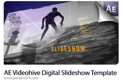 دانلود پروژه آماده افترافکت اسلایدشو دیجیتالی تصاویر به همراه آموزش ویدئویی از ویدئوهایو - Videohive Digital Slideshow After Effects Template