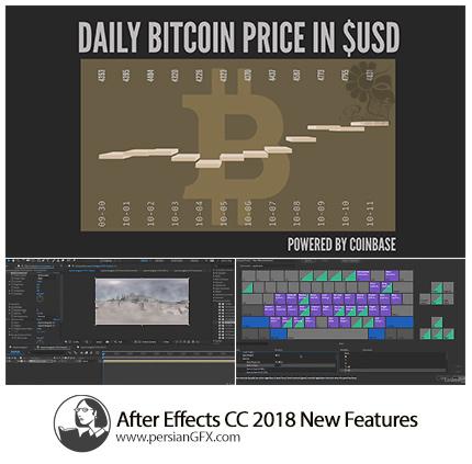 دانلود آموزش ویژگی های جدید افترافکت سی سی 2018 از لیندا - Lynda After Effects CC 2018 New Features