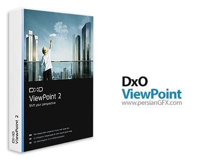 نرم افزار ویرایش عناصر تصاویر - DxO ViewPoint v3.1.4 Build 251 x64