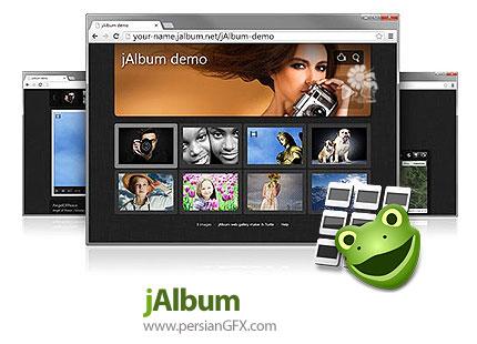 دانلود نرم افزار ساخت آلبوم های آنلاین برای نمایش در وب - jAlbum v15.0.6 x86/x64