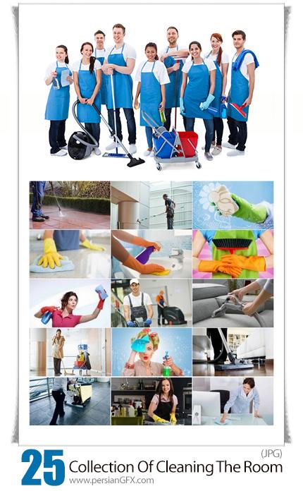 دانلود مجموعه تصاویر با کیفیت تمیزکاری اتاق، پنجره، هتل، دفترکار، مواد شوینده، تمیزکار - Collection Of Cleaning The Room