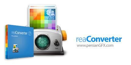 دانلود نرم افزار ویرایش و تبدیل فرمت گروهی تصاویر - ReaSoft Development reaConverter Pro v7.488
