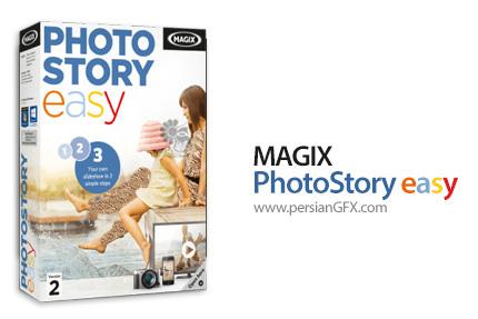 دانلود نرم افزار ساخت اسلاید شو از عکس ها و کلیپ های ویدئویی - MAGIX Photostory Easy v2.0.1.54