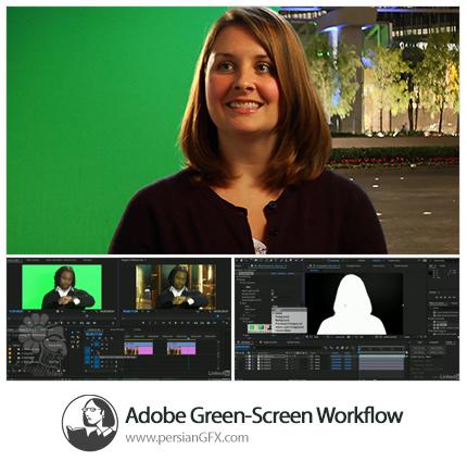 دانلود آموزش جداسازی تصویر بازیگر از پرده سبز با افترافکت و پریمیر پرو از لیندا - Lynda Adobe Green-Screen Workflow