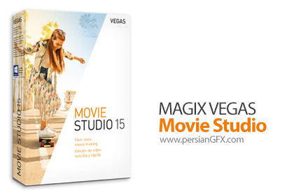 دانلود نرم افزار استودیوی ساخت و ویرایش فیلم - MAGIX VEGAS Movie Studio v15.0.0 Build 106 x64