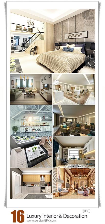 دانلود تصاویر با کیفیت دکوراسیون و طراحی داخلی لوکس - Luxury Interior And Decoration