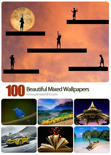 دانلود والپیپرهای زیبا و متنوع - Beautiful Mixed Wallpapers 04