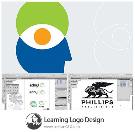 دانلود آموزش طراحی لوگو در ایلوستریتور از لیندا - Lynda Learning Logo Design