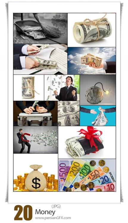 دانلود تصاویر با کیفیت پول، اسکناس، دلار، سکه - Money
